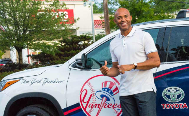 New York Yankees legend Mariano Rivera.