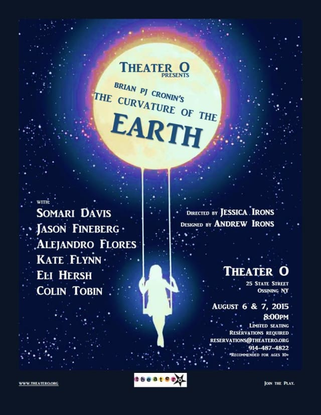 """Theater O presents """"Curvature of The Earth,"""" starring Ossining teens. Aug. 6-7 at Theater O, 25 State St., Ossining."""