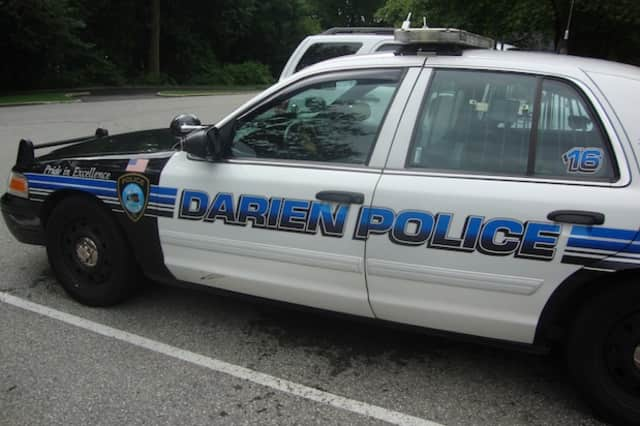 Darien Police arrested a Stamford man after he gave an officer a fake ID after being pulled over.
