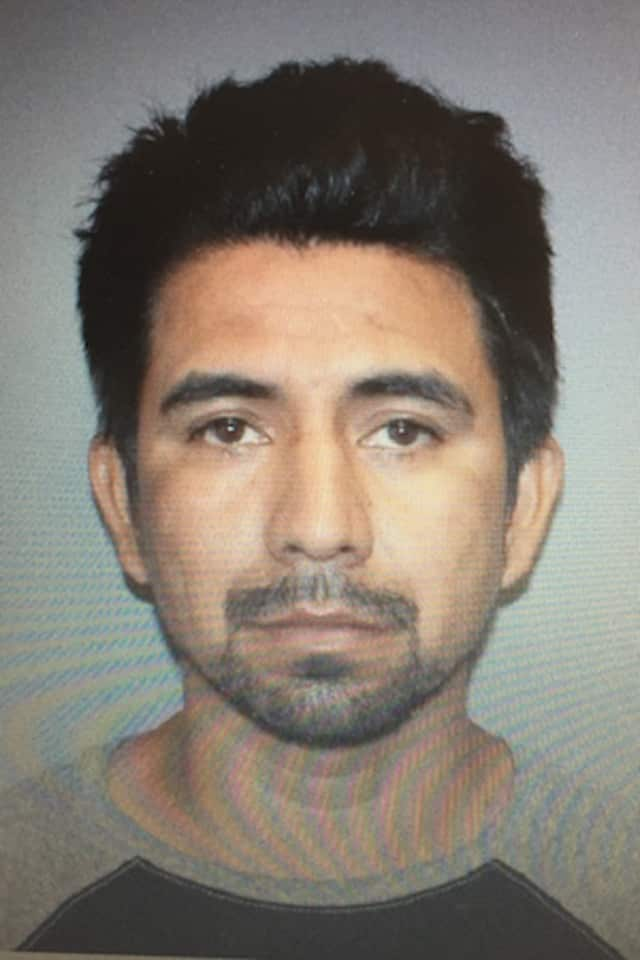 Eladio Villa-Garcia, 22, of Norwalk was arrested after police said he cut up his girlfriend's shoes and smeared avocado and banana on her TV and bed.