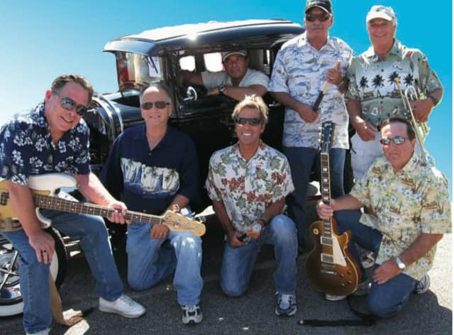 The Driftwoods Beach Boy Band will perform a concert Aug. 5 at Roger Sherman Baldwin Park.