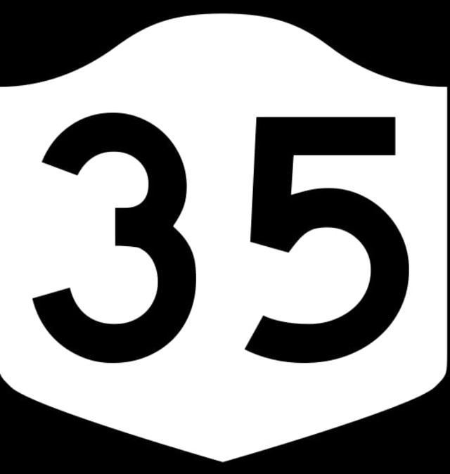 Drivers on Route 35 will experience delays through Aug. 7.