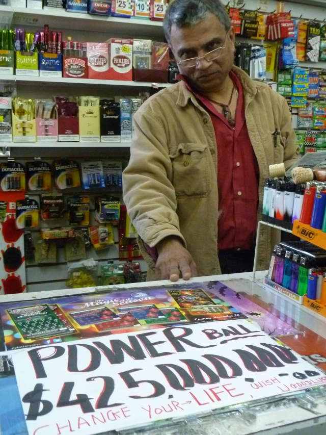Vendors in 42 states are selling tickets for Wednesday's $422 million Powerball jackpot.