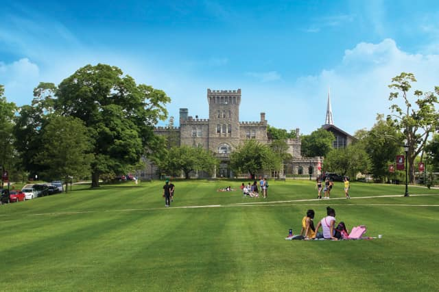 Manhattanville College' is taking precautions against the spread of Legionnaires' Disease on its Purchase campus. Legionella bacteria was detected in a large water chiller between Benziger Hall and a parking lot, which is near Reid Castle.