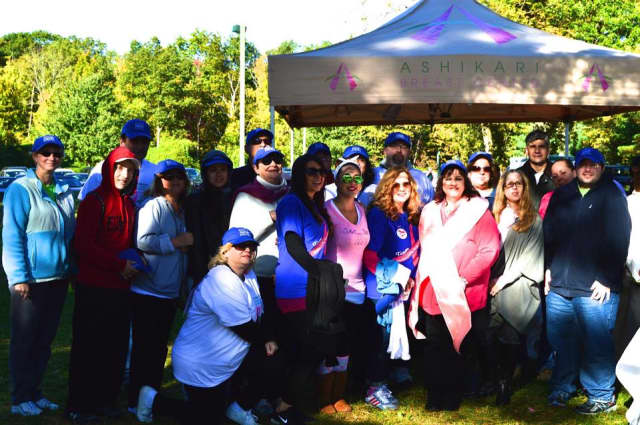 Members of the NewYork-Presbyterian/Hudson Valley Hospital team at the 2014 Support-A-Walk.