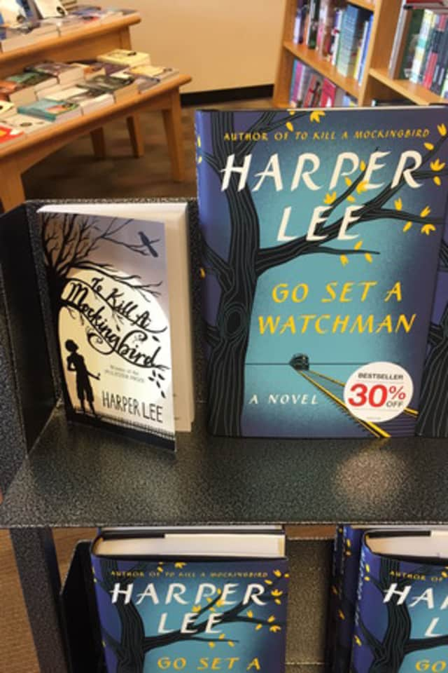 """Go Set A Watchman"" has been very popular in Pound Ridge."