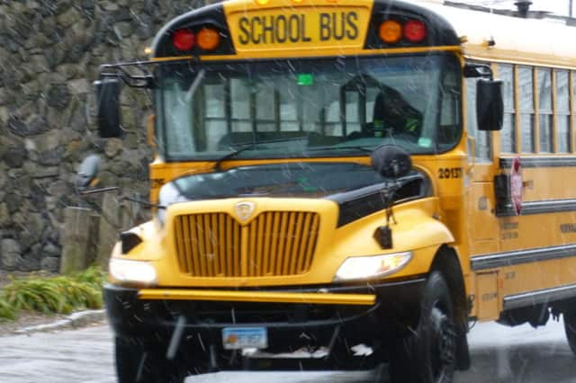 Snow is sending Ridgefield students home early Tuesday.