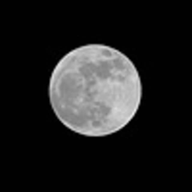 Westchester residents can see a blue moon on Friday night.