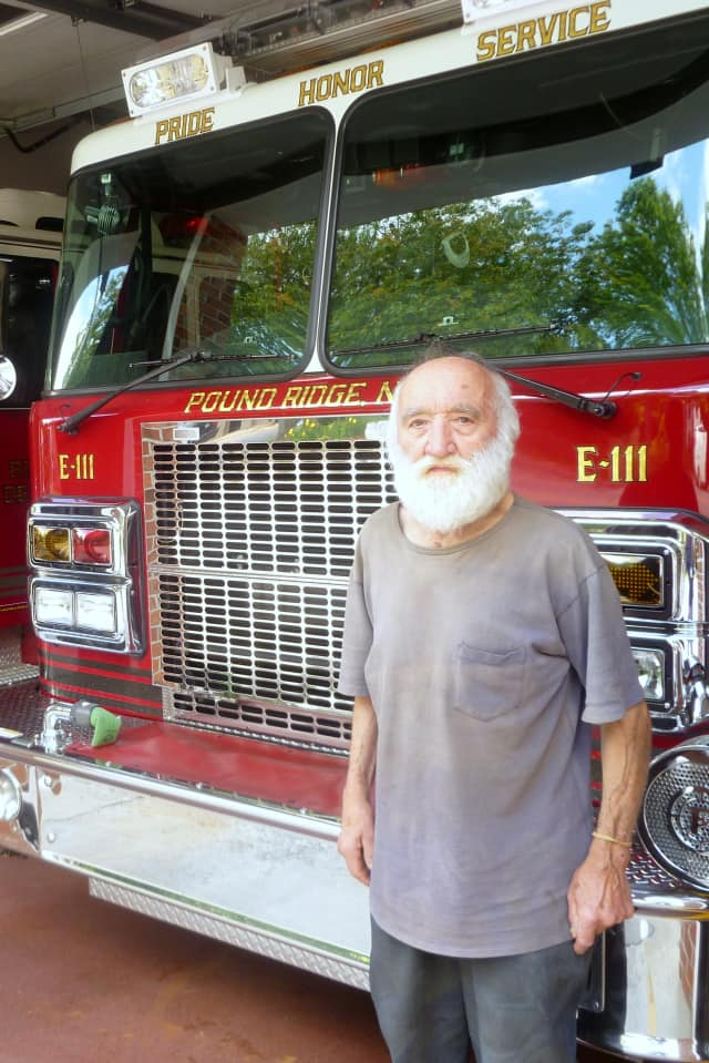 Carl Breuninger, the oldest active firefighter in the Pound Ridge Fire Department, died last week. He was a member of the department for 65 years.