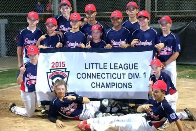 North Stamford, the Little League Connecticut Division 1 Champions