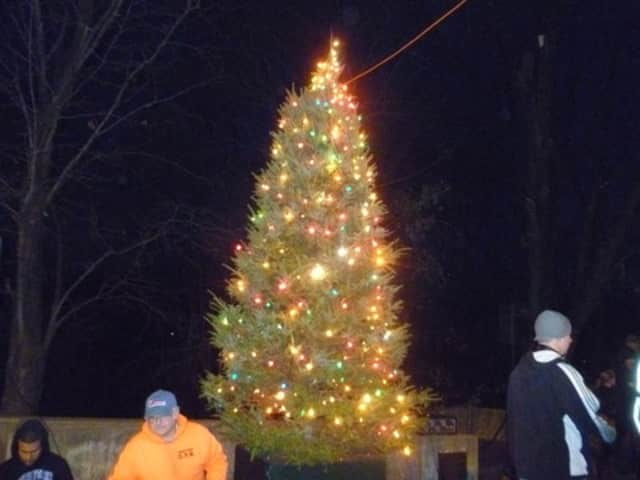 dobbs ferrys christmas tree lighting in 2011