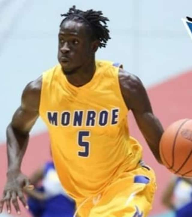 Former Monroe College basketball player Maurice Ndour signed with the Dallas Mavericks.
