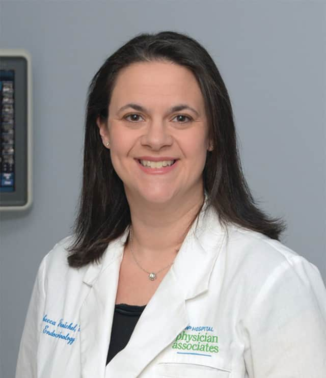 Dr. Rebecca Fenichel,  an endocrinologist at White Plains Hospital Physician Associates.