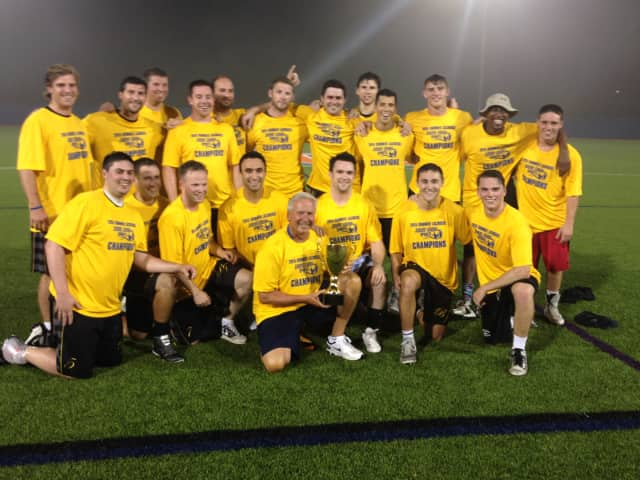 The Beecher Flooks Funeral Home lacrosse team has won the championship of the Sound Shore Summer Lacrosse League.