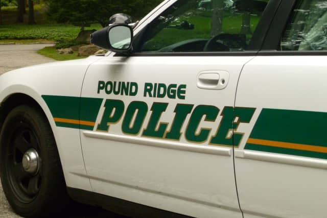 Pound Ridge police charged a Stamford, Conn., man with driving with a suspended license, a misdemeanor.