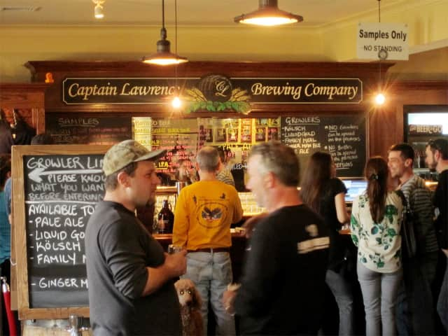 Elmsford's Captain Lawrence Brewery was the subject of a recent New York Times article.