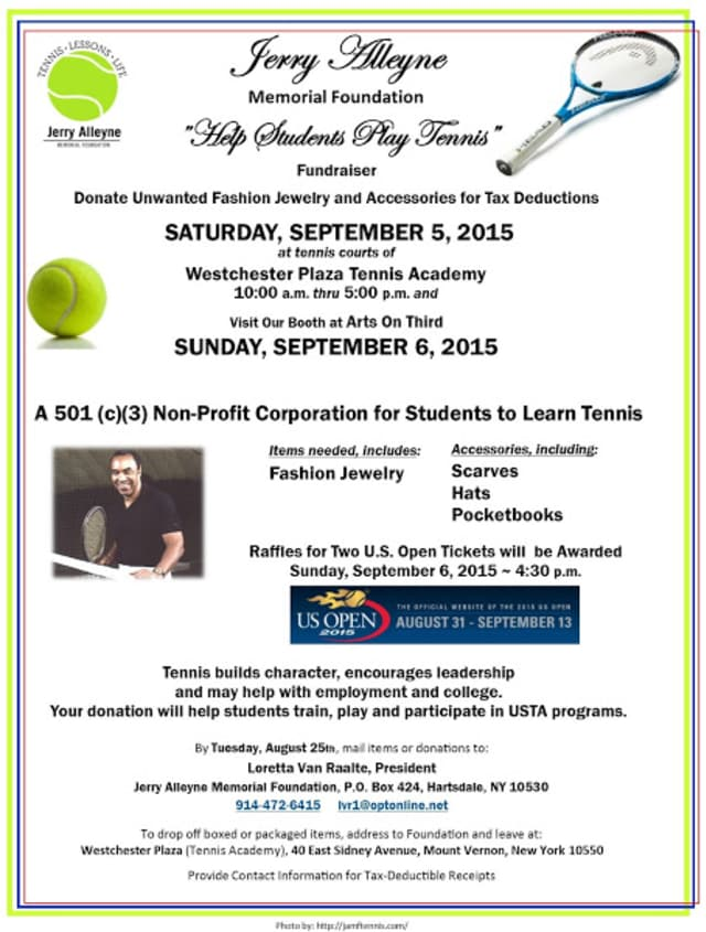 The Jerry Alleyne Memorial Foundation is having a fundraiser Sept. 5.