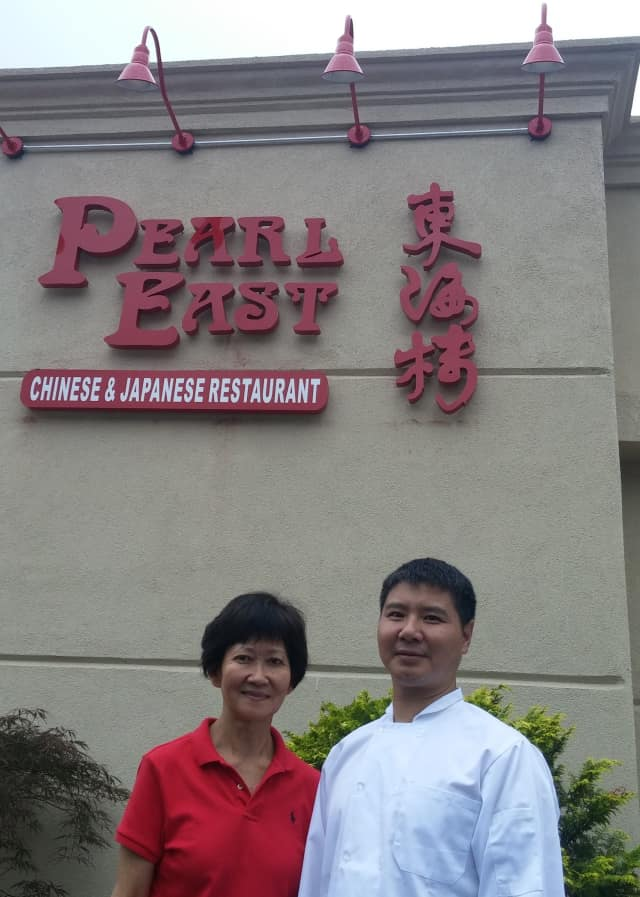 Ivy Bacher and Chef Ye will host the grand reopening of Pearl East at its new location, 323 Hope St., Stamford.