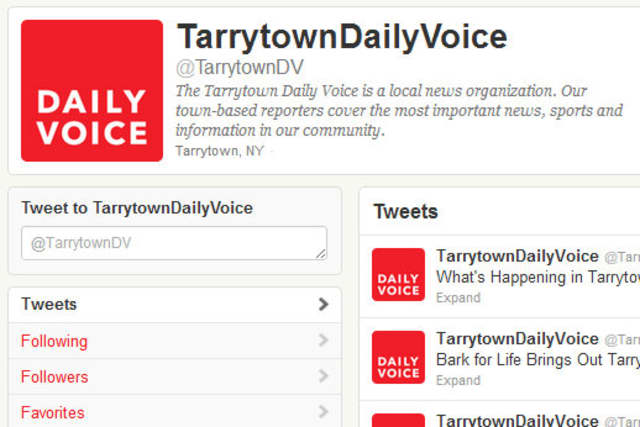 The Tarrytown Daily Voice is on Twitter and Facebook.