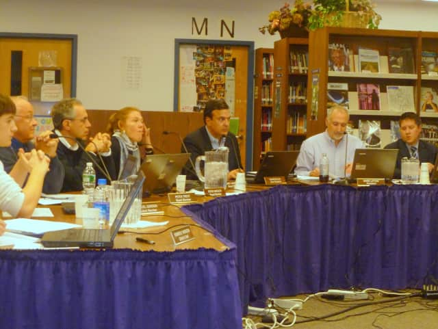 The Katonah-Lewisboro School Board discusses 2013-14 budget issues Thursday night, including the possibility of closing an elementary school.