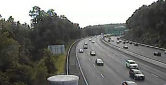 Traffic is moving well Wednesday morning on northbound I-87 near I-287.