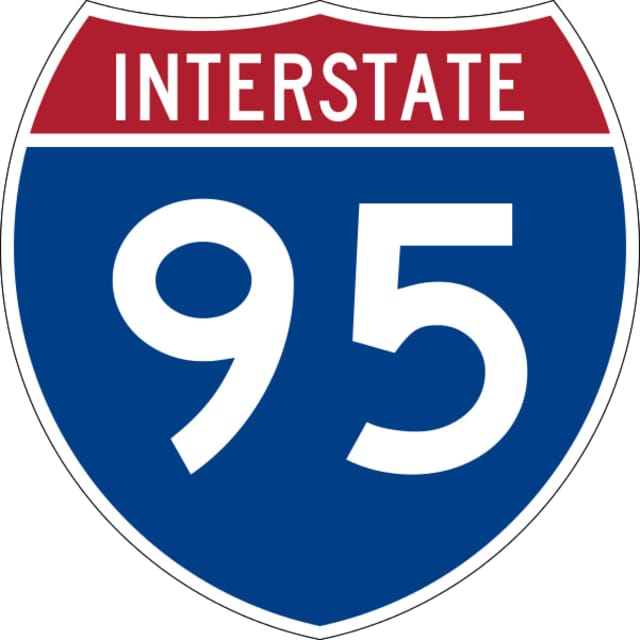 A two-truck accident has snarled southbound traffic on I-95 in Stratford.