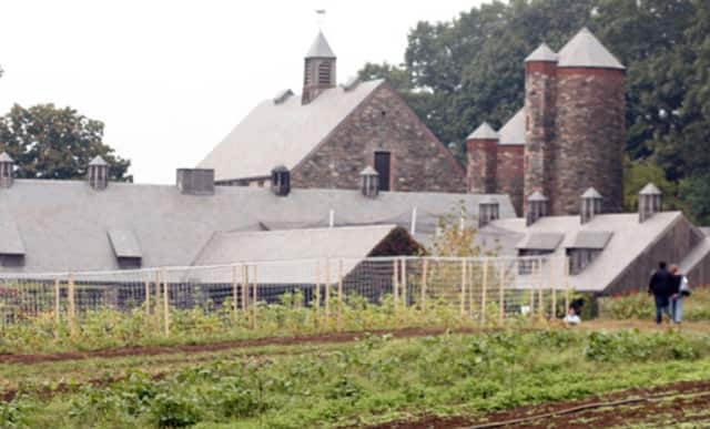 The Stone Barns Center for Food and Agriculture is located in Tarrytown, N.Y.