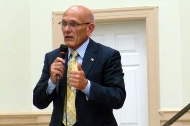 """Harrison Mayor Ron Belmont congratulates the swim team, urges residents to stay cool and plans the next """"Lunch with the Mayor."""""""