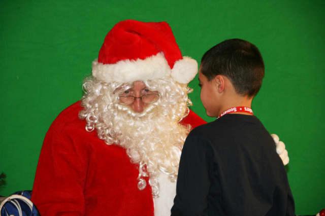 Somers' Thomas Parisi asks Santa for a dog.