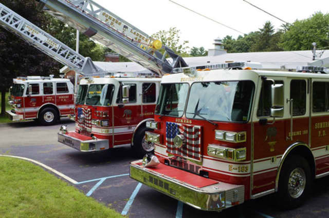 The Somers Volunteer Fire Department responded to a chimney fire on Saturday night.