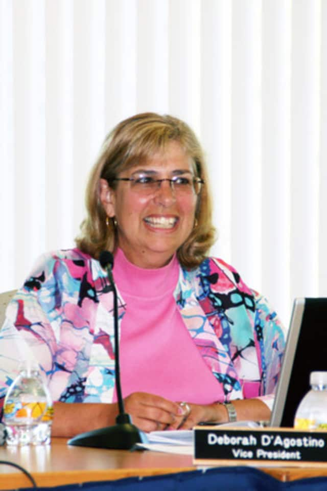 The North Salem Board of Education meets on Wednesday. Pictured: Board President Deb D'Agostino.