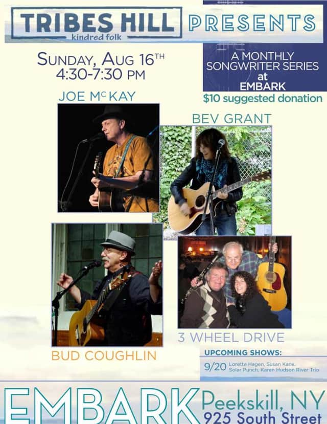 The next installment of the Kindred Folk series at Embark takes place Aug, 16.