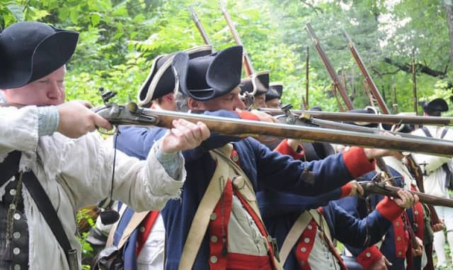 Residents can enjoy a day of fun during a Revolutionary War re-enactment at Putnam Memorial State Park in Redding on Saturday, Nov. 7.