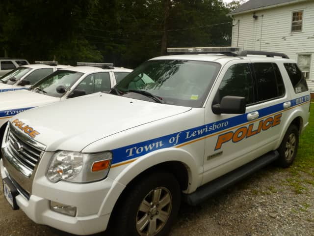 Lewisboro police investigated a car break-in at the Goldens Bridge train station on Saturday.