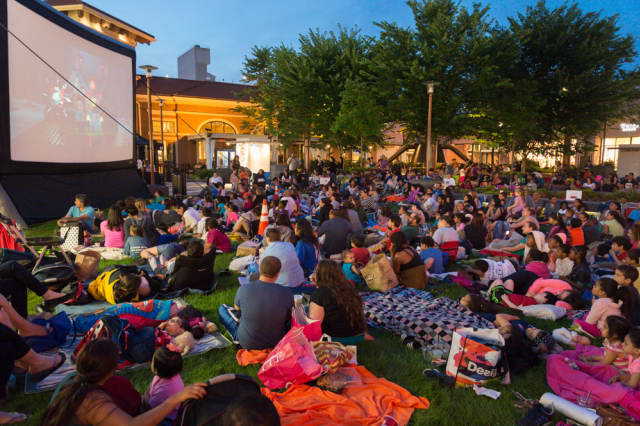 The activities start at 7 p.m. with the movie to follow at sunset all at Ridge Hill Shopping Center