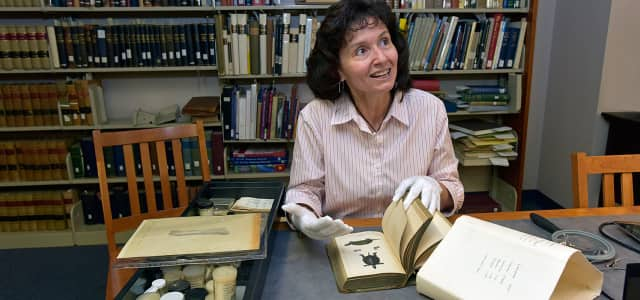 Theodora Pinou, a professor of biological and environmental sciences at Western Connecticut State University, has been designated as the inaugural faculty curator of the H.G. Dowling Herpetological Collection.