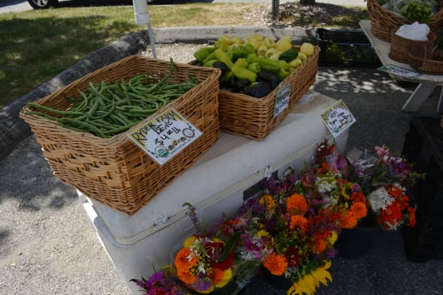 Some of the produce available at Hudson Valley Regional Farmers Market.