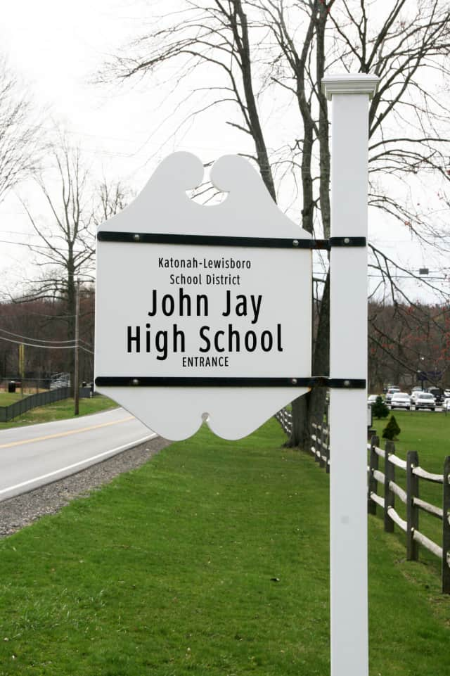 A lockdown was accidentally initiated at John Jay High School in Cross River on Thursday.