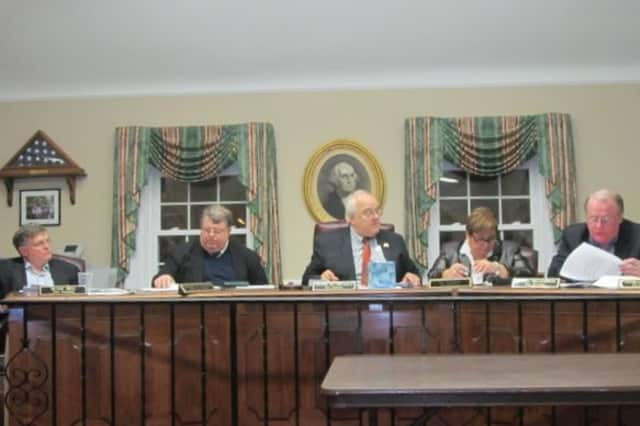 The Pelham Town Board discussed the proposed 2013 town budget Monday.