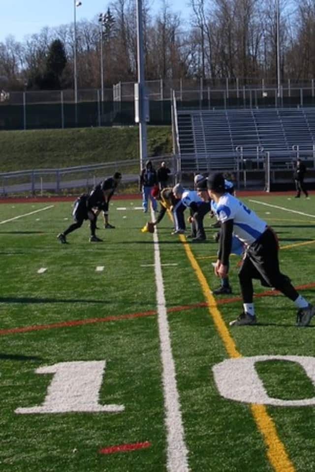 The flag football pro bowl will benefit the Harrison Apar Foundation