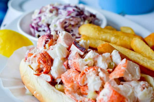 The lobster roll was among the well received dishes at The Wooden Spoon in New Rochelle.