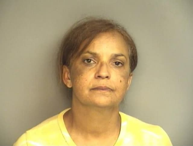 Ana Ramos, 52, of Norwalk was arrested by Stamford police.