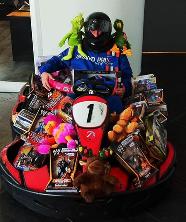 Grand Prix New York Racing/Spins Bowl in Mount Kisco is collecting new, unwrapped toys for Toys for Tots through Dec. 20.