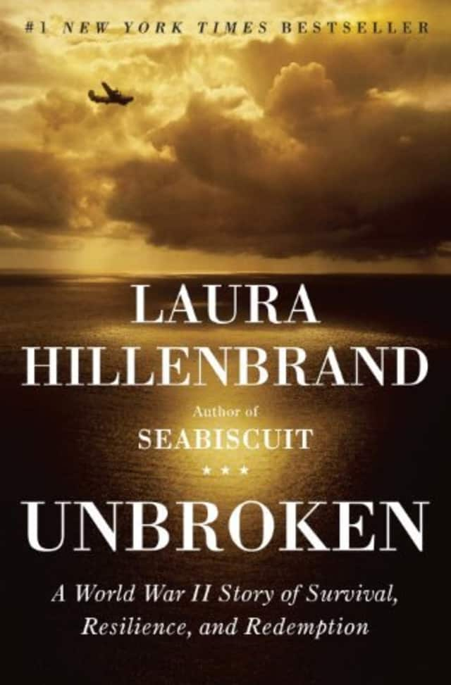 "The Pound Ridge Library's Community Read will focus on ""Unbroken"" by Laura Hillenbrand."