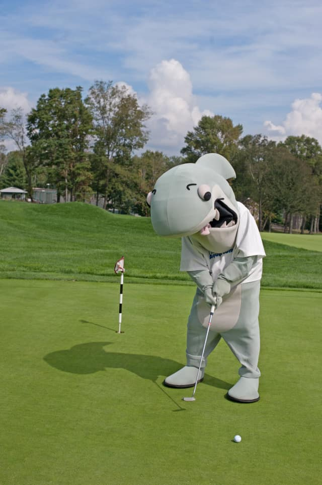 Join Sharky Oct. 5 at the Wee Burn Country Club in Darien for The Maritime Aquarium at Norwalk's 5th Maritime Golf Classic.