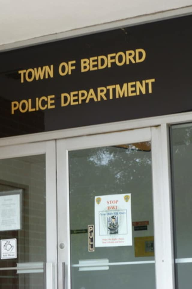 A man got out of his car and exposed himself to a woman running on Reservoir Road Tuesday morning, according to Bedford Police.