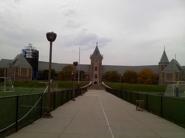 New Rochelle High School.