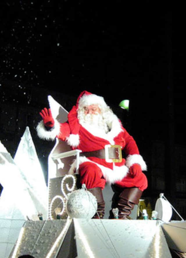 Santa visits the Pinesbridge Nursery in Ossining as one of the highlights of this weekend's events.
