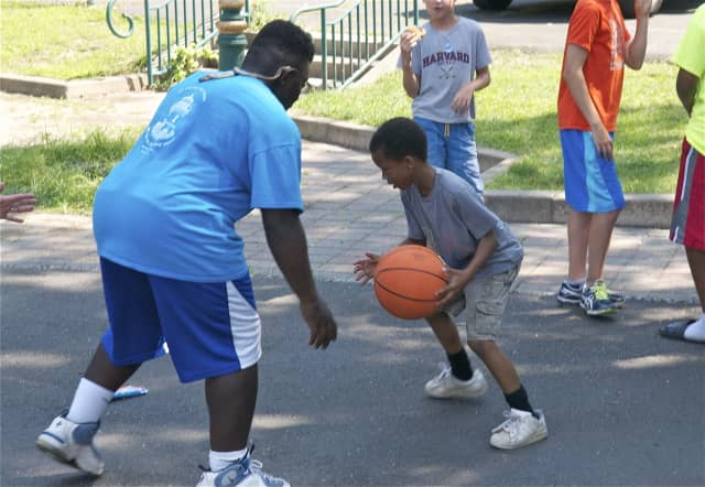 Back to Basics camps for basketball and cheerleading take place in July and August in Maywood.
