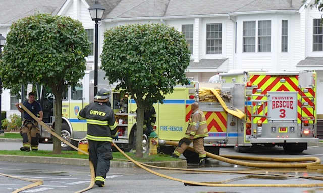 Fairview Fire District assisted in putting out a house fire Thursday night in Greenburgh.